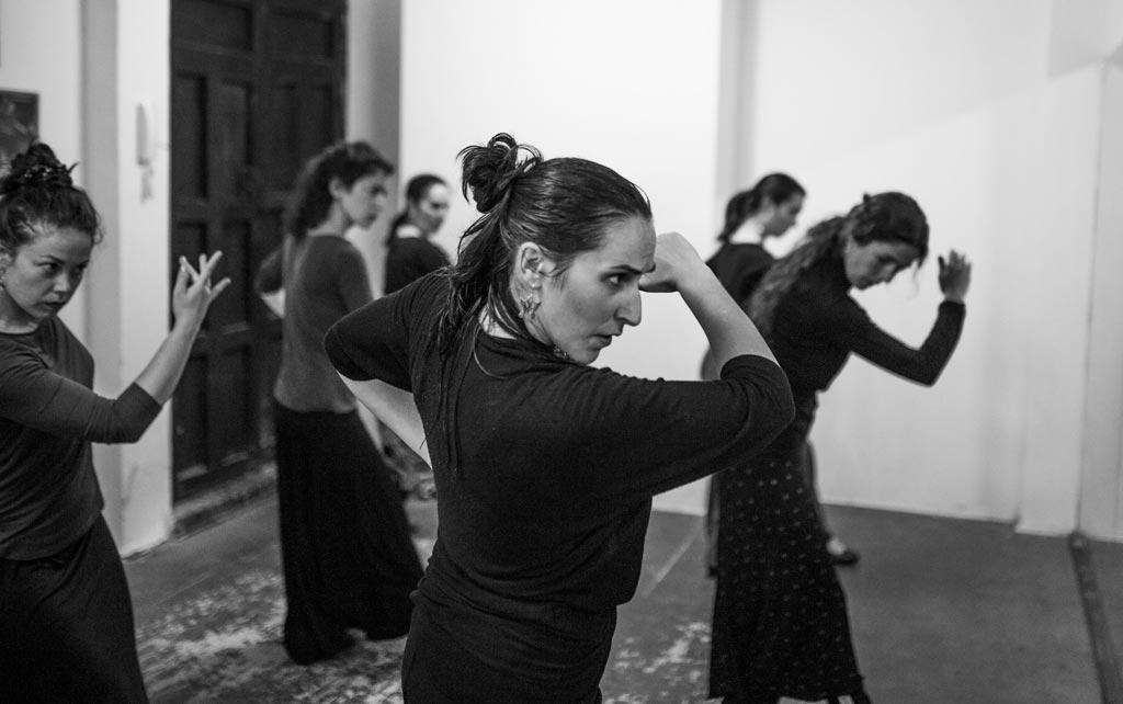 Escuela clases Flamenco Granada. Irene La Serranilla